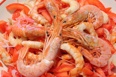 King prawns Royalty Free Stock Photography