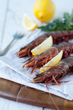 King prawns Stock Image