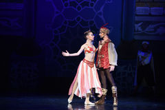 "King and queen- ballet ""One Thousand and One Nights"" Stock Image"