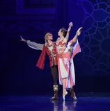 "King and queen- ballet ""One Thousand and One Nights"" Stock Images"