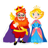 King and Queen Royalty Free Stock Image