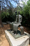 `King and Queen` by Henry Moore at the Norton Simon museum Stock Images