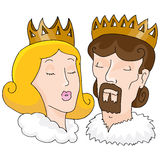 King And Queen Stock Photography