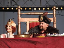 King and Queen, Lublin, Poland stock images