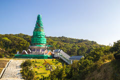 King and Queen pagoda (Noppha Methanidon and Nopph Stock Image