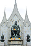 King Rama I Monument  of Thailand Royalty Free Stock Images