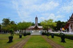 King Rama II statue, Thailand Royalty Free Stock Photography