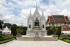 King Rama III monument Stock Photo