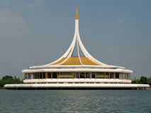 King Rama IX park in Bangkok Royalty Free Stock Images