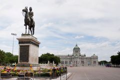 King rama 5 monument Royalty Free Stock Images