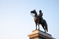 King Rama V Equestrian Monument. Royalty Free Stock Photo