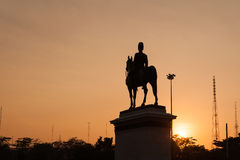 King Rama V Equestrian Monument. Stock Photography