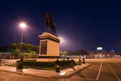 King Rama V equestrian Statue Stock Images