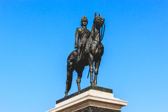 King Rama V statue Royalty Free Stock Photography
