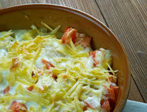King Ranch Chicken Stock Image