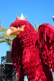 King Red Eagle - Carnival of Nice 2016 Royalty Free Stock Images