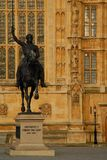 King Richard I, Lionheart Statue Royalty Free Stock Image
