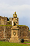 King Robert The Bruce, Stirling, Scotland Stock Photo