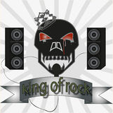 King of rock Royalty Free Stock Photo