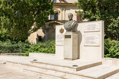 King Of Romania Michael I Statue Royalty Free Stock Images