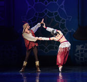 "The king's affair- ballet ""One Thousand and One Nights"" Stock Photos"