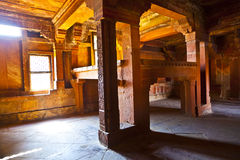 The King's Bed in Fatehpur Sikri Royalty Free Stock Photography