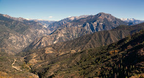 King's Canyon California Sierra Nevada Range Outdoors royalty free stock images