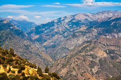 King's Canyon Landscape. King's Canyon in California Stock Image