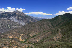 King's Canyon national park. A view from King's canyon national park Royalty Free Stock Images
