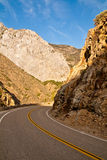 King's Canyon Road Royalty Free Stock Photos