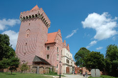 King's castle nearby marketsquare in Poznan Royalty Free Stock Images