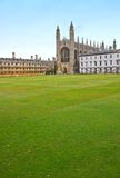 King's College. The world famous Chapel of King's College, Cambridge, completed in the time of Henry VIII. (Room for text Royalty Free Stock Photo