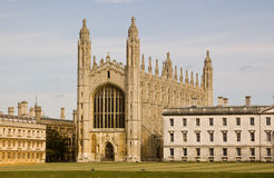 King's College, Cambridge Royalty Free Stock Image