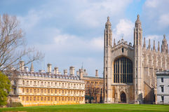King's college, Cambridge. Royalty Free Stock Photography