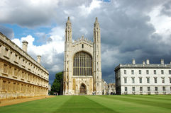 King's College Cambridge Royalty Free Stock Photo