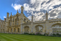 King's College at Cambridge University Stock Images