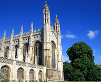 King's college chapel Stock Photography
