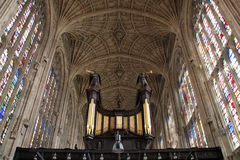 King's college chapel Royalty Free Stock Images