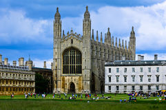 King's College Chapel Stock Image