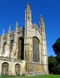 King's College Chapel. Chapel of King's College, Cambridge, in morning light Royalty Free Stock Photo