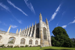 King's College Chapel in Cambridge Royalty Free Stock Photography