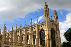 King's College Chapel, Cambridge. Royalty Free Stock Images