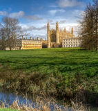 King's College Chapel at Cambridge Stock Photos