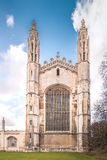 King's College Chapel (Front) Royalty Free Stock Photography
