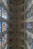 King`s College Chapel Interior Stock Photo