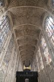 King`s College Chapel Interior Stock Photos