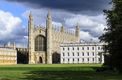 King`s College Chapel Stock Photos