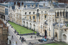 King's college front entrance Royalty Free Stock Image