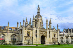 King`s College inner court Stock Images