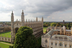 King's College and King's College Chapel, Cambridge, England Stock Photo